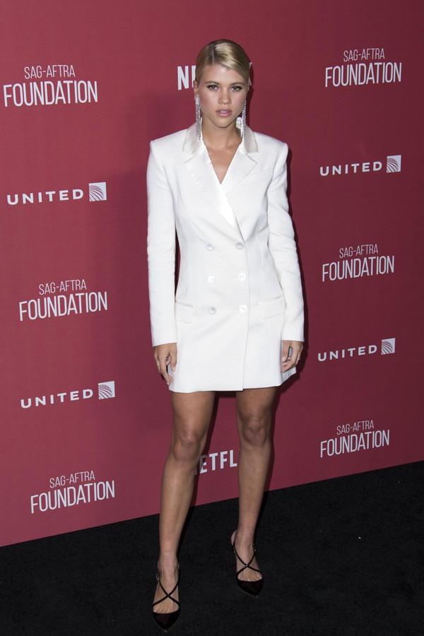 dress blazer blazer dress white white dress mini dress pumps sofia richie