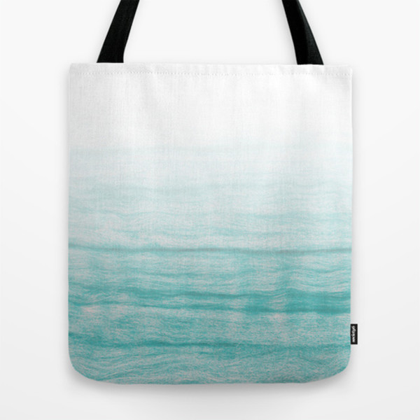bag blue turquoise tote bag sea summer girly city outfits beach