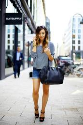 flirting with fashion,shirt,shorts,shoes,bag,sunglasses