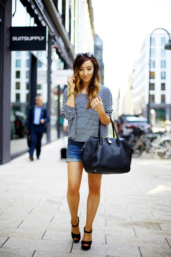 flirting with fashion shirt shorts shoes bag sunglasses