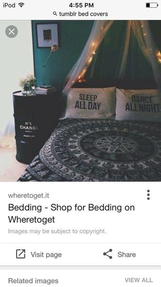 home accessory tumblr bedding