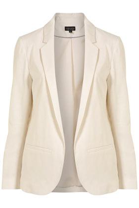 Ordinating linen blazer
