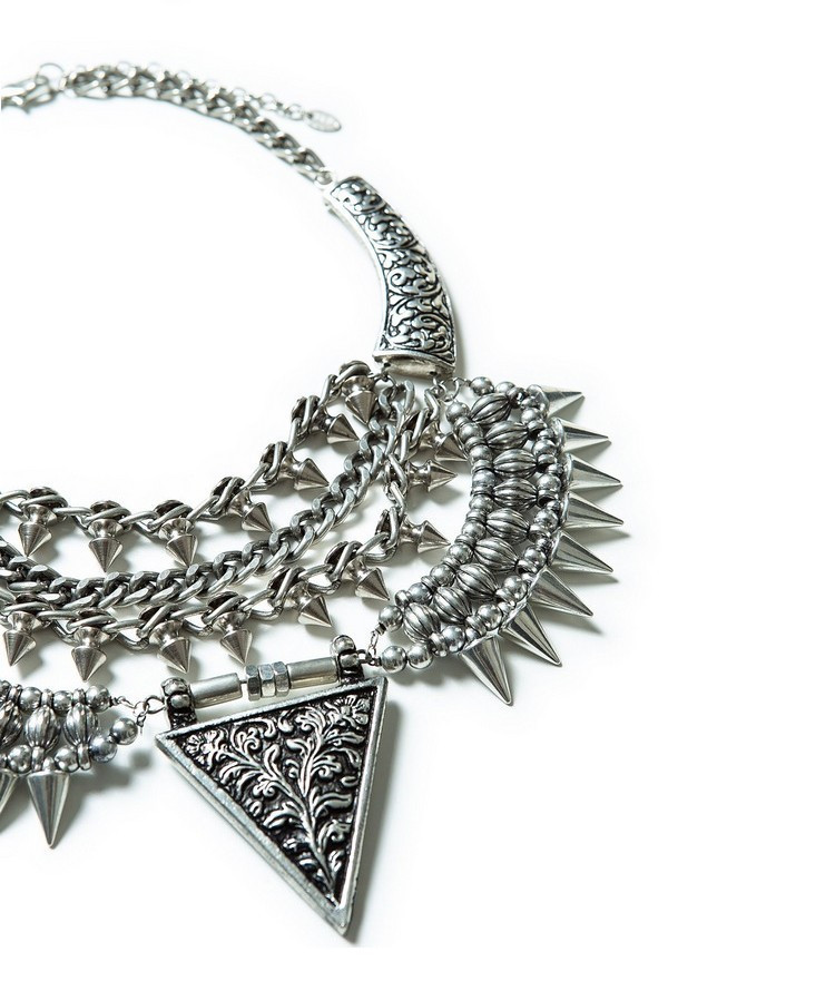 Brand punk rivet necklace statement necklace for women alloy vintage necklaces & pendants fashion jewelry wholesale-in Pendant Necklaces from Jewelry on Aliexpress.com   Alibaba Group