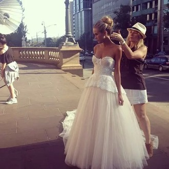 dress wedding dress corset wedding dress tulledress tulle we beautiful dresses