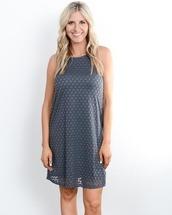 dress,charcoal,charcoal dress,circle,fashion,womens fashion,womens clothing,boutique