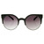 Super Round Cat Eye Indie Sunglasses 8524                           | zeroUV