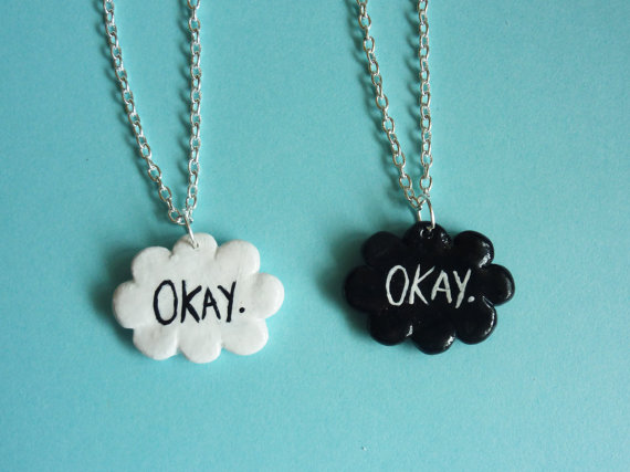 One The fault in our stars inspired 'Okay' by LittleInfinityCrafts