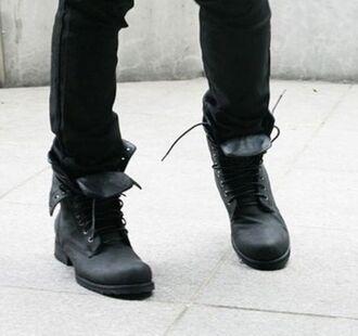 shoes boots punk combat boots