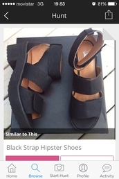 shoes,black shoes strap cool fashion highheels heels sandals