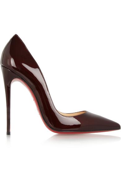 Christian Louboutin|So Kate 120 patent-leather pumps|NET-A-PORTER.COM