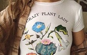 shirt,graphic tee,white,white t-shirt,top,t-shirt,white shirt,white top,plants