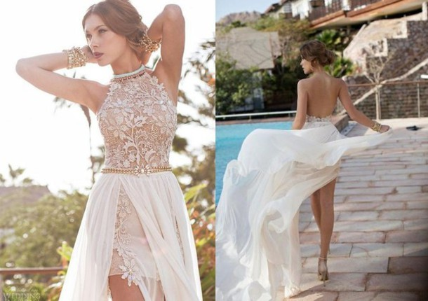dress 191679986 chiffon dress backless prom dress evening dress lace dress lace dress prom dress wedding chiffon nude dress