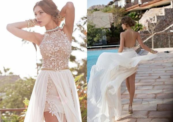 dress 191679986 chiffon dress backless prom dress evening dress lace dress lace dress prom dress wedding chiffon nude dress