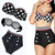 Fashion Cutest Retro Swimsuit Swimwear Vintage Pin Up High Waist Dot Bikini Set | eBay