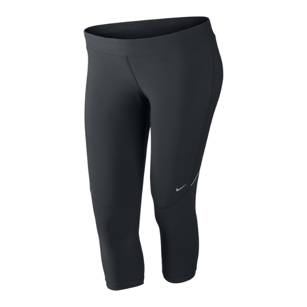 The nike extended size filament women's running capris.