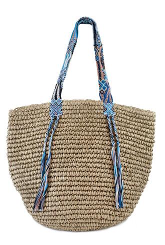 bag fallon and royce turquoise raffia bag bikiniluxe