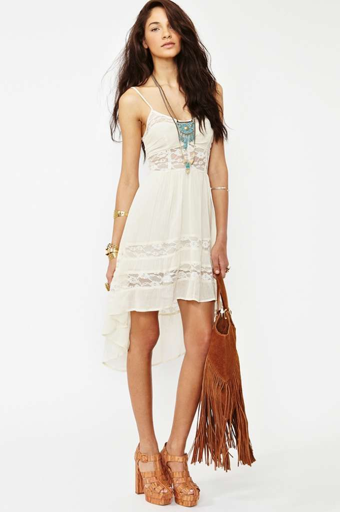Desert Lace Dress  in  Sale Dresses at Nasty Gal