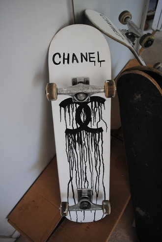 t-shirt hipster grunge skateboard chanel