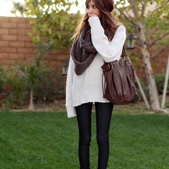 Brown Shoulder Bag Tumblr 36