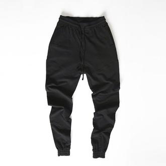 pants joggers black kanye west