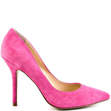 Med pink suede for 89.99 direct from heels.com