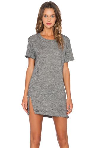 dress shirt dress vintage oversized charcoal