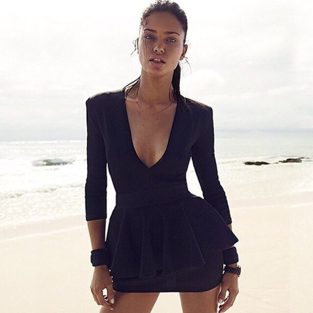 Adriana Lima Little Black Dress - Shop for Adriana Lima Little ...