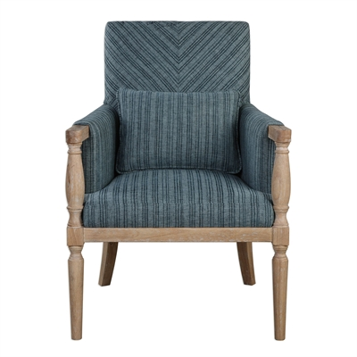 Uttermost Seamore Pattern Armchair | The Mine