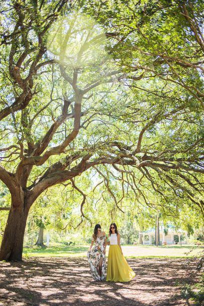 skirt maxi skirt tank top floral dress blogger blogger style