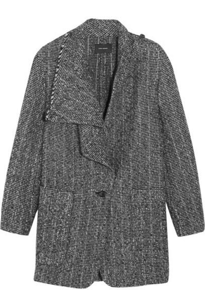 Isabel Marant - Hondo Bouclé-alpaca Coat - Gray