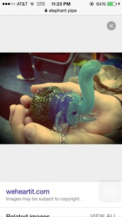 home accessory,pipe,glass pipe,elephant,elephant print,blue,green,nature,weed,glass blown