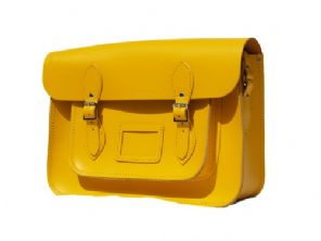13 yellow satchel