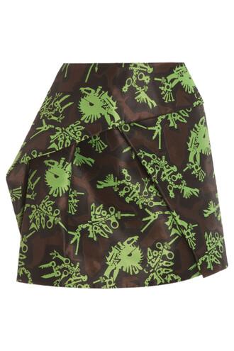 skirt mini skirt mini jacquard