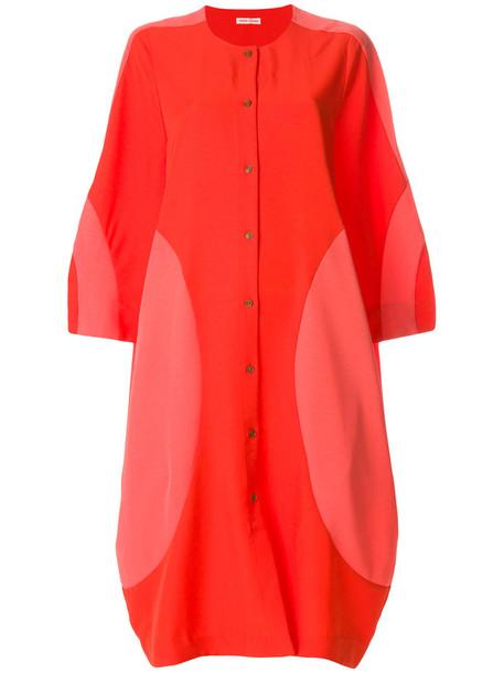 Henrik Vibskov dress women yellow orange