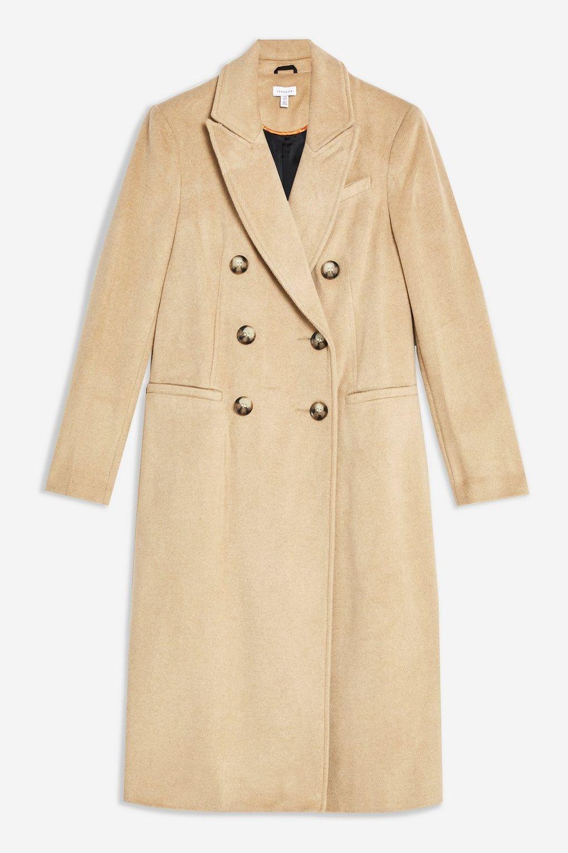 Brushed Coat - Jackets & Coats - Clothing