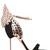 100mm Evangeline Wing Suede Sandals