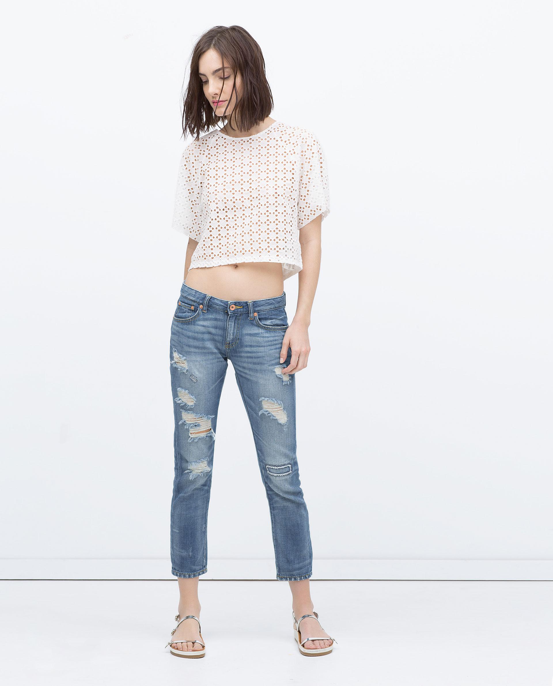 JEANS - Boyfriend - Jeans - WOMAN | ZARA Canada