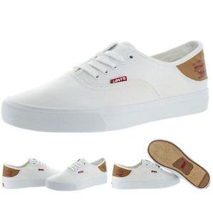 5fe555c4215f05 Levis Jeans Men s Jordy Canvas Low Top Sneakers Shoes