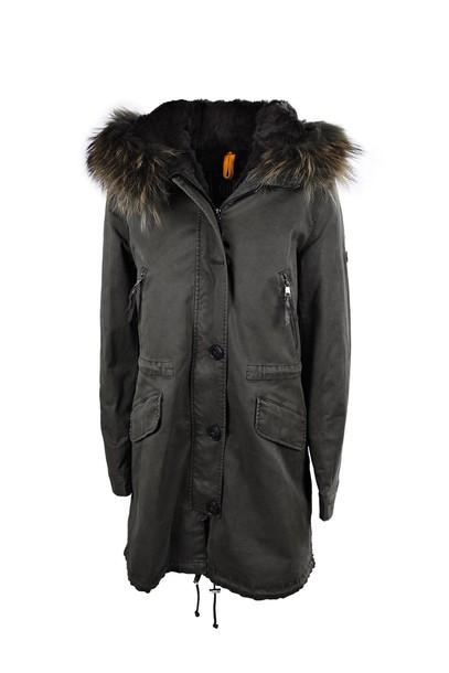 Blonde No.8 coat fur coat fur green