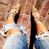 shoes,Valentino,spikes,heels