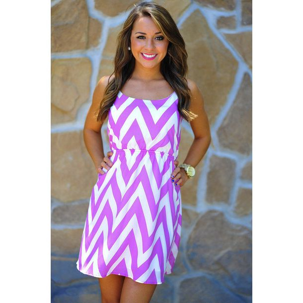 Dress: short dress purple white pretty summer gold pattern ...