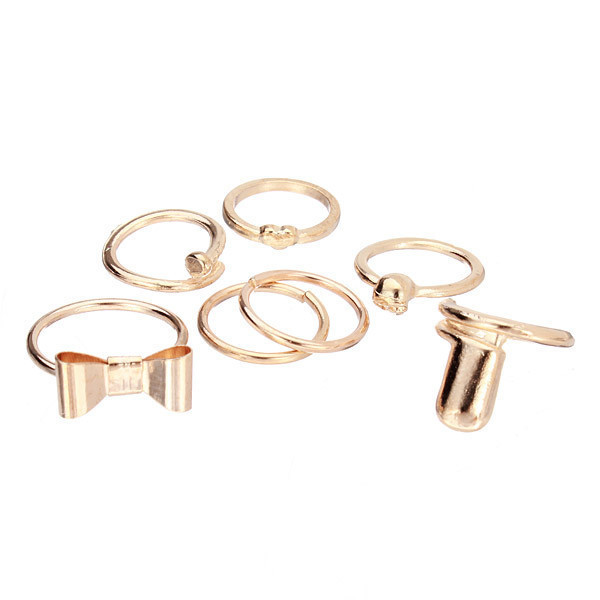 PRINCESS MIDI RINGS SET – HolyPink