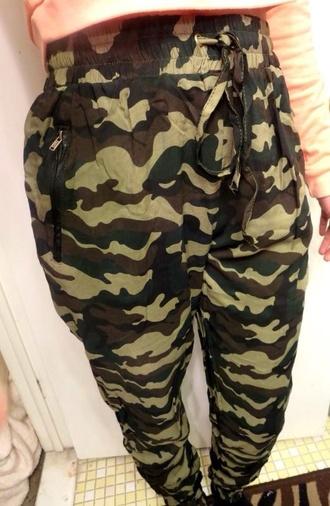 pants harem pants harem harem sweatpants mc hammer camouflage camo pants sweatpants baggy pants streetstyle streetwear street