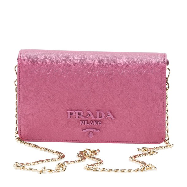 Prada bag clutch pink