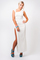 Doutzen kroes inspired split maxi dress
