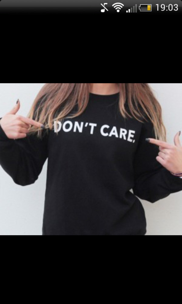sweater fashion girl black