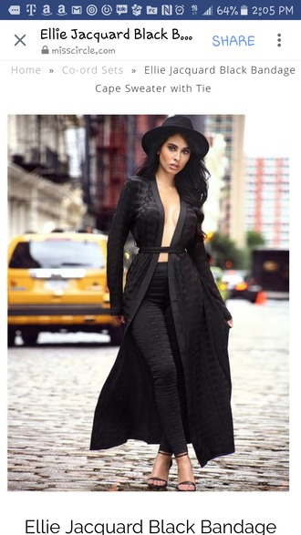cardigan leggings black  leggings black cardigan long cardigan party outfits sexy sexy outfit spring outfits fall outfits winter outfits classy date outfit clubwear wedding clothes wedding guest