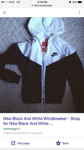 jacket,menswear,black,white,windbreaker,nike,black and white,raincoat,coat,nike running shoes,nike sweater,black jacket,nike jacket,hoodie,nike air,sweater,black and white nike,sportswear,mens windbreaker,nike windbreaker,tumblr outfit,nike sportswear,black and white nike windbreaker