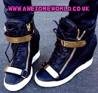 shoes sneakers giuseppe zanotti wedges wedge sneakers chain high tops high top sneakers adidas nike roshe run