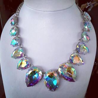 jewels crystal crystal quartz crystal neckpiece girl women cute elegant classic classy teardrop teardrop necklace jewelry necklace necklace woman necklace jewelry jewerly jewelry store online jewelry supplier